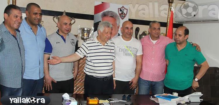 حسام حسن - الزمالك