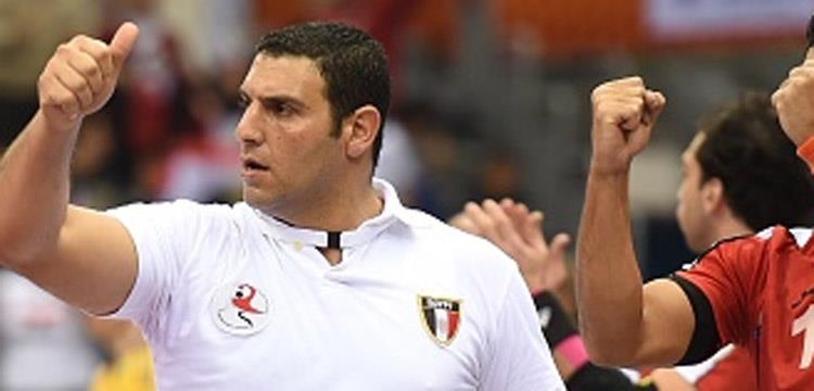 مروان رجب، كرة اليد، مصر
