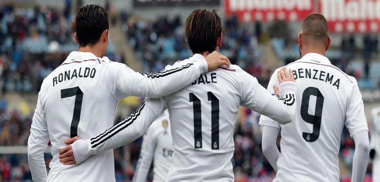 هجوم ريال مدريد