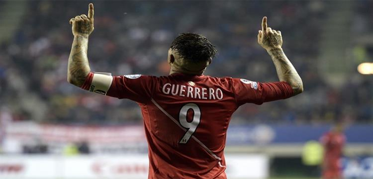 بيرو تتوجه بقضية جيريرو إلى محاكم سويسرا أملا في مشاركته بالمونديال