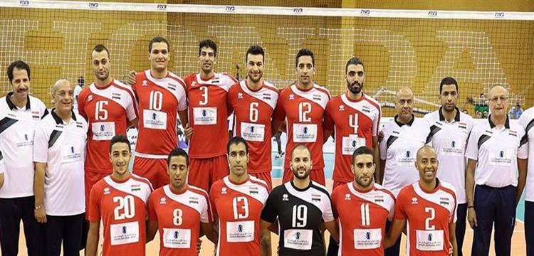 الكرة الطائرة - منتخب مصر