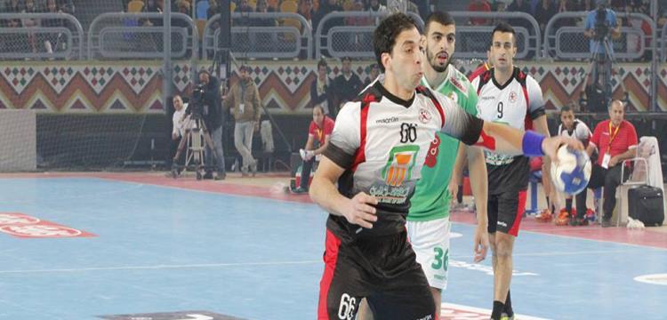 أحمد الأحمر، الاحمر، كرة يد