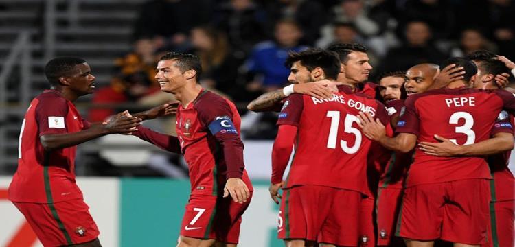 كريستيانو رونالدو يصل للهدف رقم 70 في مسيرته مع البرتغال