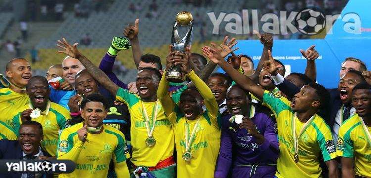 صنداونز يفوز بكأس السوبر الأفريقي لأول مرة في تاريخه