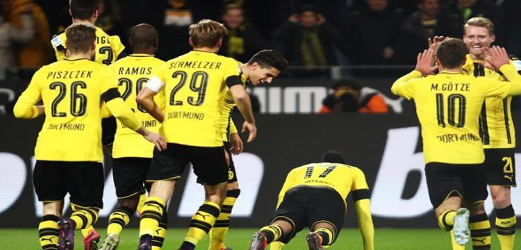 دورتموند يخوض مباراته بربع نهائي كأس ألمانيا يوم 14 مارس