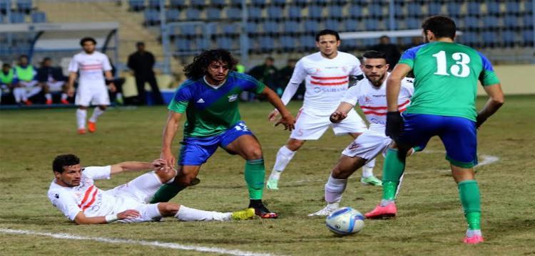 المقاصة الزمالك طارق حامد احمد دويدار عمرو بركات