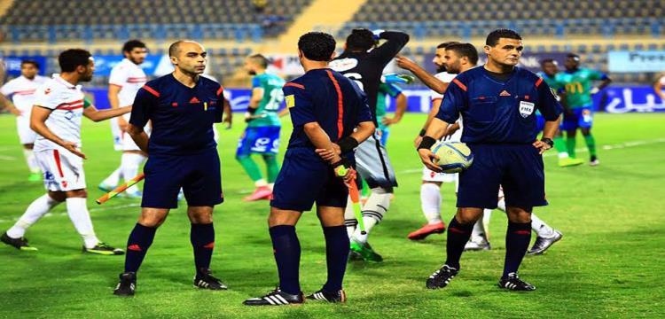 """حكم نهائي كأس مصر لـ""""يلا كورة"""" : أزمة المباراة لن تؤثر علي أدائي"""