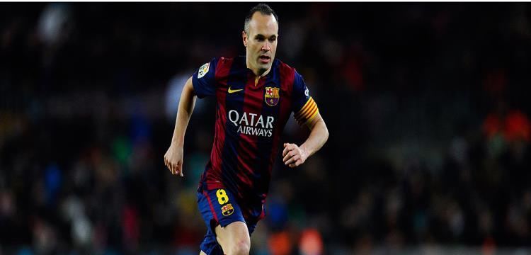 إنييستا يكشف عن ناديه الجديد بعد الرحيل عن برشلونة