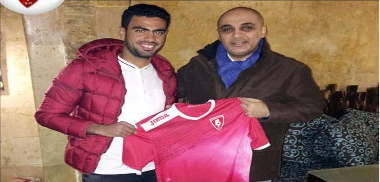 احمد مجدي لاعب الانتاج الحربي