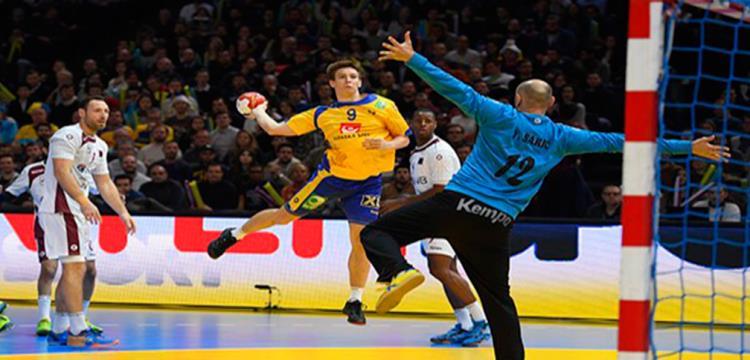 كرة اليد.. السويد تكتسح بيلاروسيا وتتأهل لملاقاة فرنسا بالمونديال