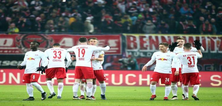 لايبزج يعبر هامبورج بثلاثية ويتأهل لأول مرة في تاريخه لنهائي كأس ألمانيا