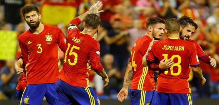 إسبانيا تواجه روسيا وكوستاريكا للاستعداد للمونديال