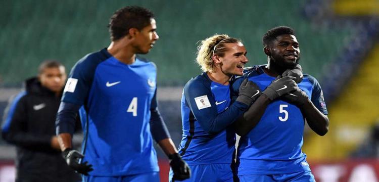 ديشامب يعتبر بيرو الفريق الأصعب في مجموعة فرنسا