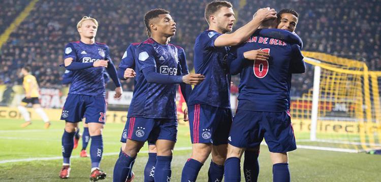 بالفيديو.. أياكس يمطر شباك بريدا بثمانية أهداف في الدوري الهولندي