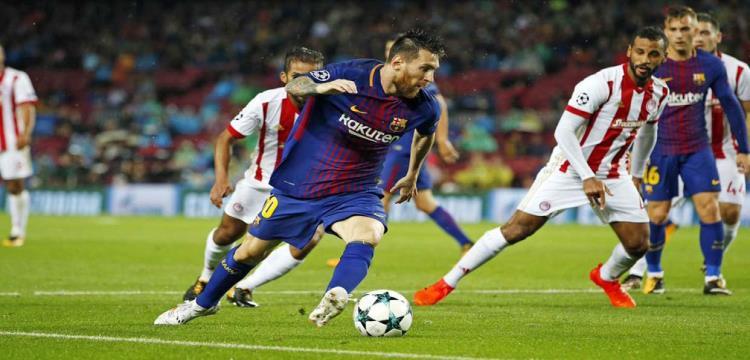 يويفا يفرض غرامة على اولمبياكوس بعد اقتحام جماهيره لملعب مباراة برشلونة