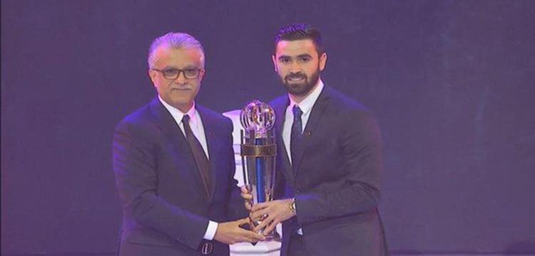 السوري خربين يتوج بجائزة أفضل لاعب في آسيا لعام 2017