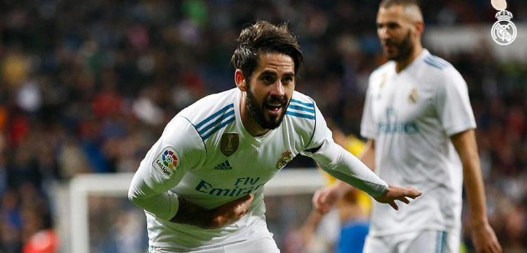 إيسكو: من الجيد أن يتولى لوبيتيجي قيادة ريال مدريد