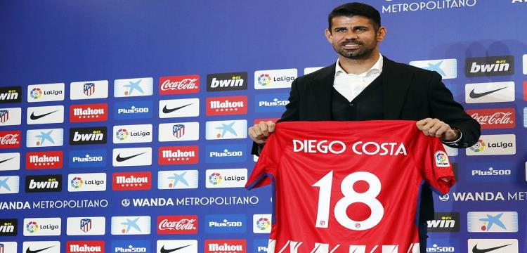 رسميا.. أتلتيكو مدريد يقدم كوستا