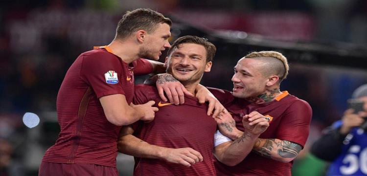 بالفيديو.. روما يكمل المربع الذهبي لكأس إيطاليا