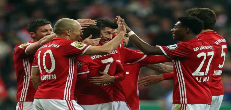 بالفيديو.. بايرن ميونخ يتأهل لنصف نهائي كأس ألمانيا