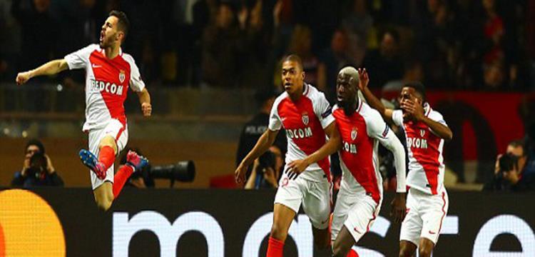 موناكو يقاتل على لقب الدوري بفوزه على ليون بعد تألقهما أوروبيا