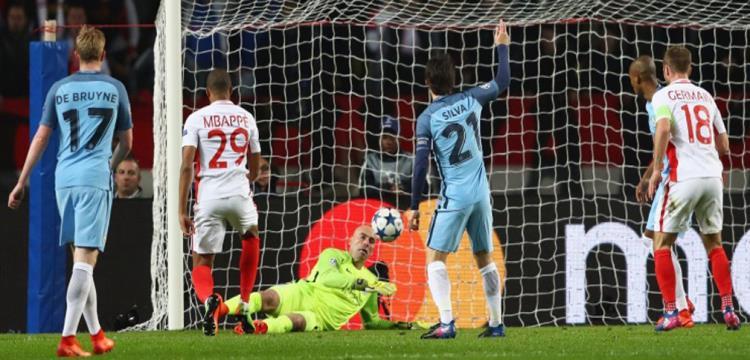 يويفا يغرم مانشستر سيتي 18 ألف يورو بسبب أحداث مباراة موناكو