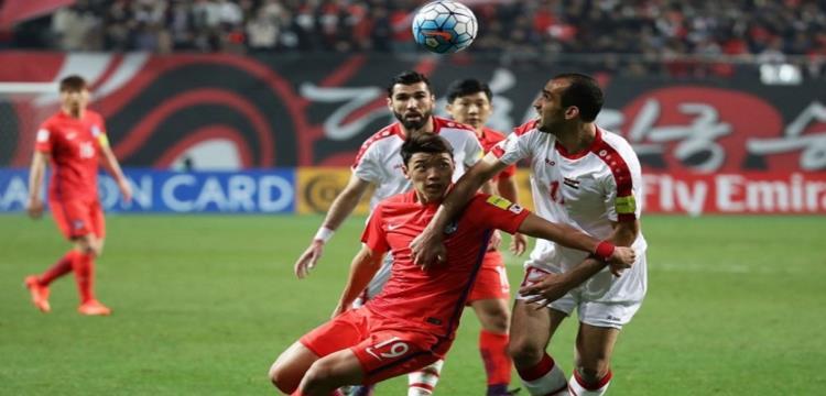 هونج جيونج يقود كوريا الجنوبية للفوز على سوريا بتصفيات المونديال