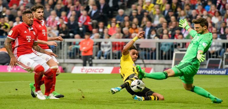 دورتموند يزيد متاعب بايرن ويقصيه من نصف نهائي كأس ألمانيا