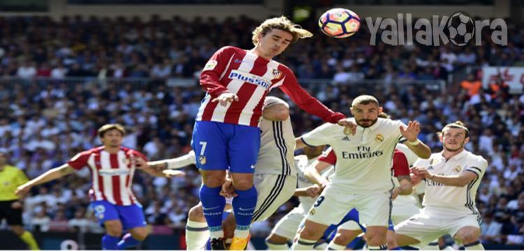 جريزمان ريال مدريد اتلتيكو مدريد