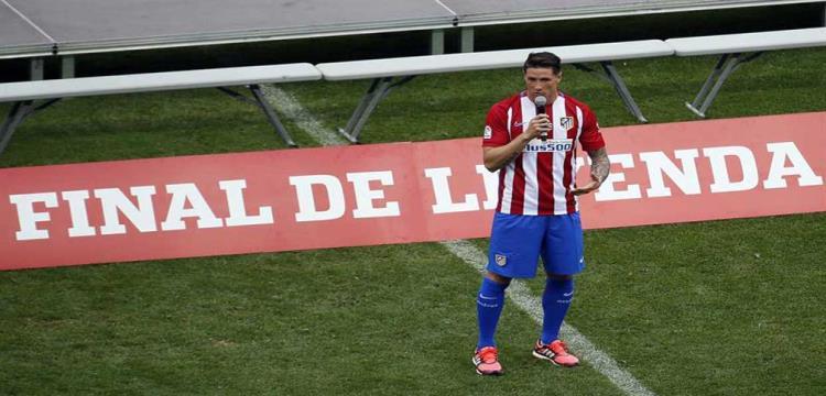 كوكي يأسف لعدم إنهاء توريس لمسيرته مع أتلتيكو مدريد