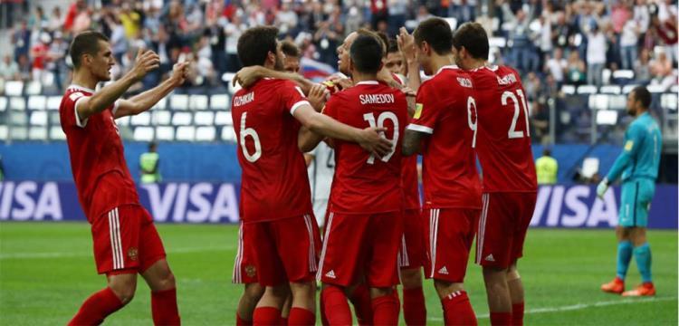 منافسو مصر.. روسيا تعلن القائمة النهائية للمونديال