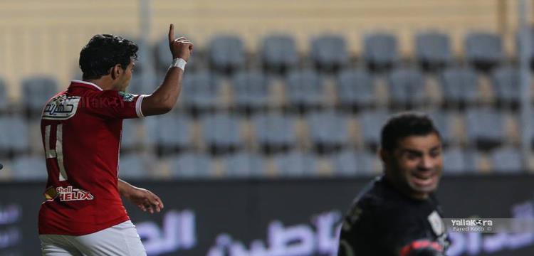 حمودي يسجل أول اهدافه مع الاهلي