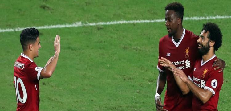 صلاح يسجل في ثنائية ليفربول أمام ليستر بنهائي كأس الدوري الإنجليزي
