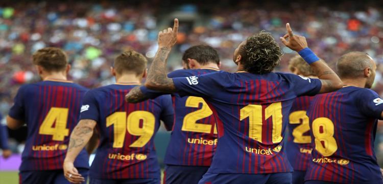 بالفيديو.. نيمار ينفجر أمام يوفنتوس ويقود برشلونة لرد اعتبار ودي