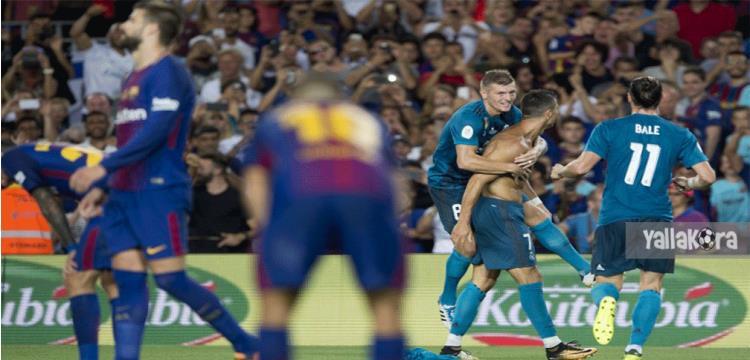 تشكيل ريال مدريد.. 3 تعديلات وبيل بديلا أمام برشلونة