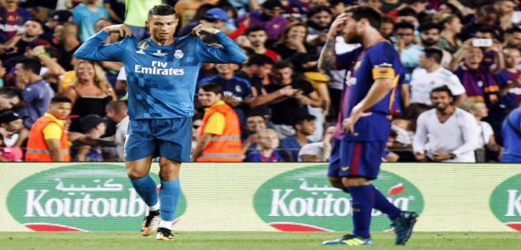 رونالدو ريال مدريد ميسي