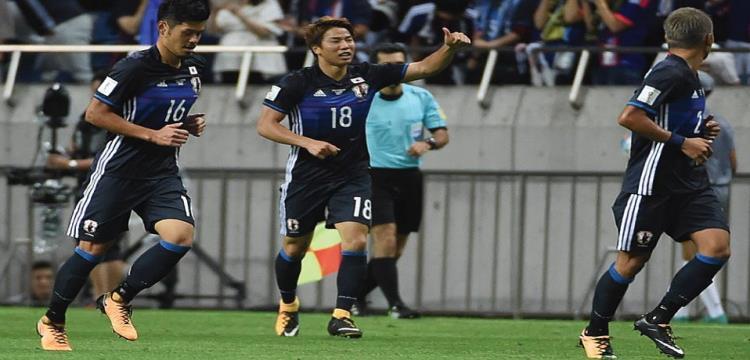 27 لاعبا في قائمة المنتخب الياباني الأولية للمونديال الروسي