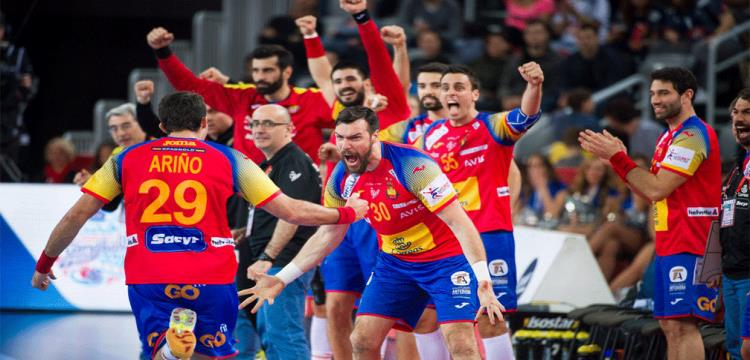 كرة اليد.. إسبانيا تقلب الطاولة على السويد وتتوج ببطولة أوروبا لأول مرة