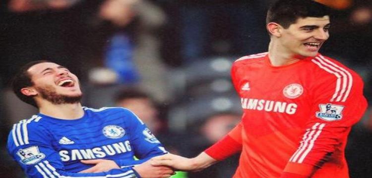 رسمياً.. تشيلسي يعلن رحيل كورتوا إلى ريال مدريد.. وضم كوفاسيتش