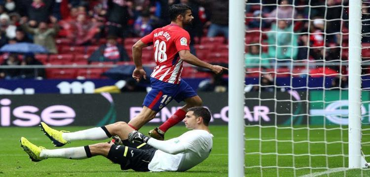 دييجو كوستا خارج قائمة أتلتيكو مدريد في مواجهة كوبنهاجن