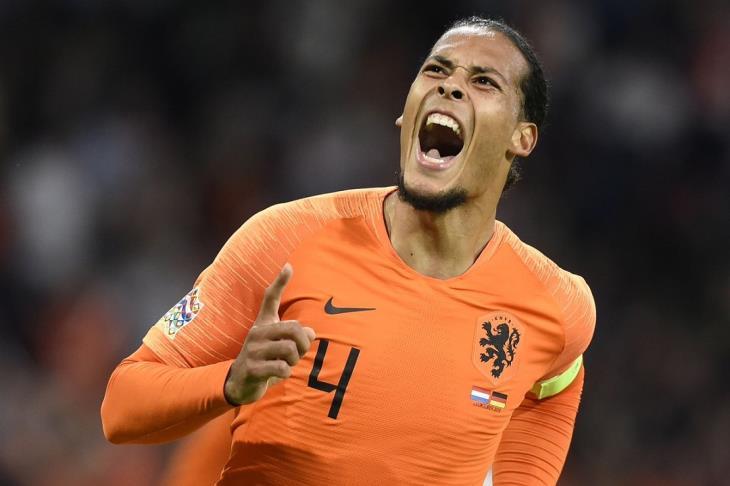 """دوري الأمم الأوروبية.. """"بصمة ليفربول"""" تقود هولندا لاكتساح ألمانيا"""
