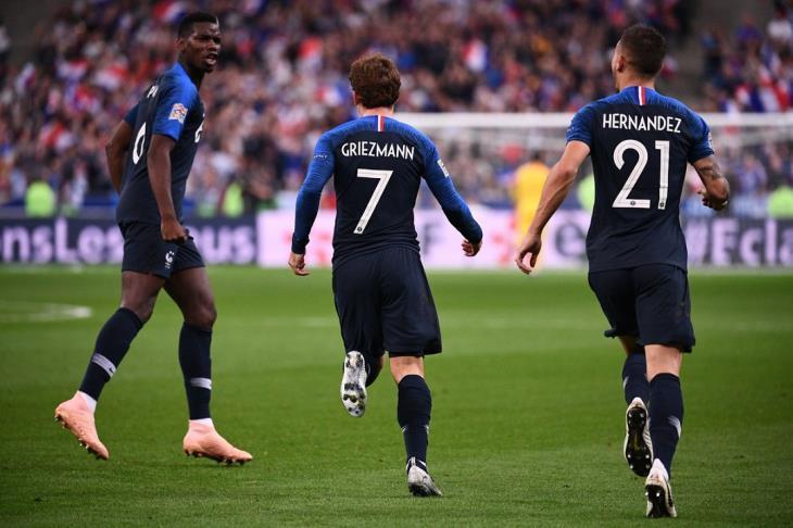 فرنسا تقترب من نصف نهائي دوري الأمم.. وألمانيا على أعتاب الهبوط