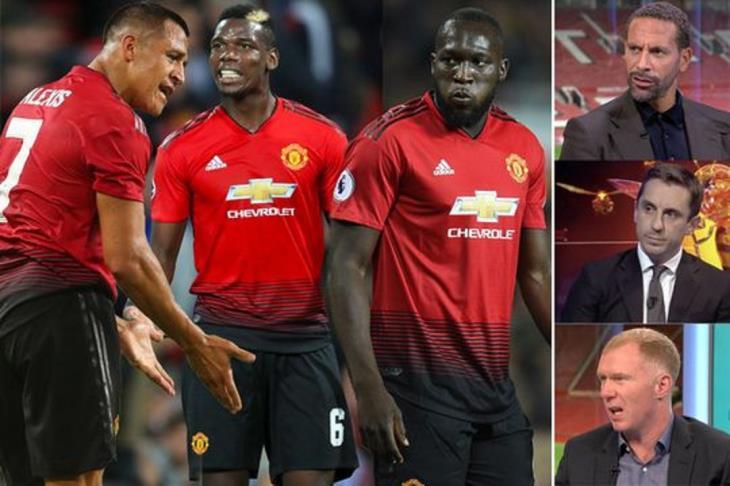 """ليس لديهم الشجاعة لانتقاد مورينيو.. لاعبو يونايتد """"غاضبون"""" من هجوم أساطير النادي"""