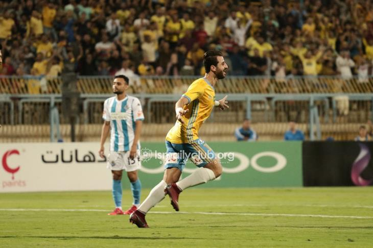الإسماعيلي يضرب بيراميدز بالخسارة الأولى ويحرمه من صدارة الدوري