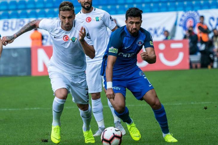 جماهير قاسم باشا تختار تريزيجيه أفضل لاعب بمباراة آكهيسار