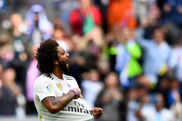 مارسيلو يكسر صيام 481 دقيقة بدون أهداف لريال مدريد في شباك ليفانتي