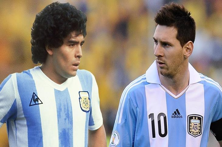 مارادونا يتراجع: ميسي الأفضل في العالم.. وصداقتي معه أكبر من أي شىء