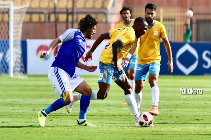 مباشر.. كأس مصر.. الإسماعيلي 0-0 المقاولون