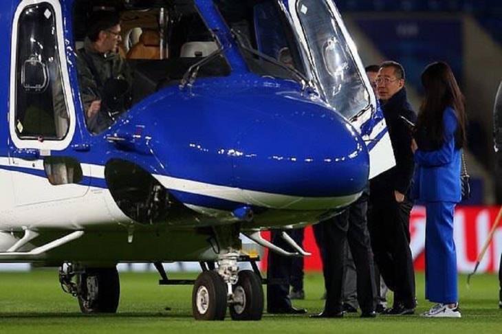 ليستر سيتي يعلن وفاة مالكه في حادث الطائرة