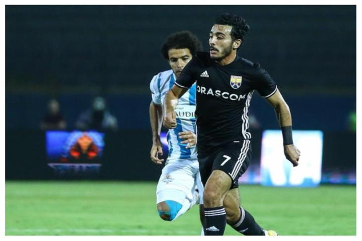 الجونة يُعلن إصابة لاعبه محمود شبراوي بقطع في الرباط الصليبي